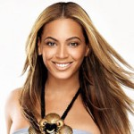 Beyonce trademark hair style and color