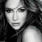 Jennifer Lopez black and white