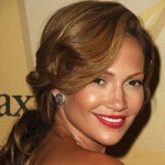 Jennifer Lopez with lighter brown hair