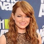 Emma Stone natural red hair