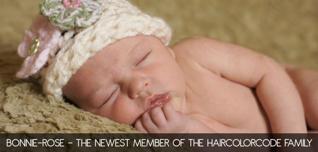Bonnie-Rose - The HairColorCode baby