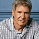 Harrison Ford with short grey hair
