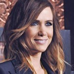 Kristen Wiig with brown to blonde ombre hair