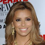 Eva Longoria with honey colored hair