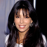 Eva with black hair in Young and the Restless